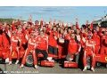The Reds party at the Valencia Circuit